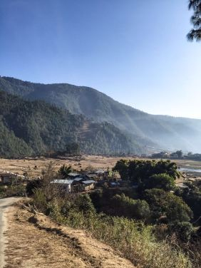 Punakha countryside
