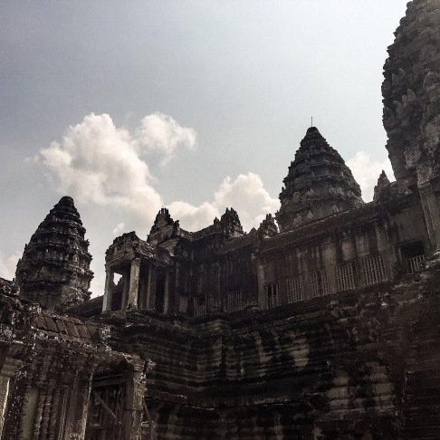 Inner towers of Angkor Wat