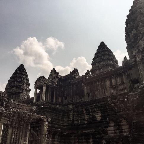 Inner towers of Angkor Wat