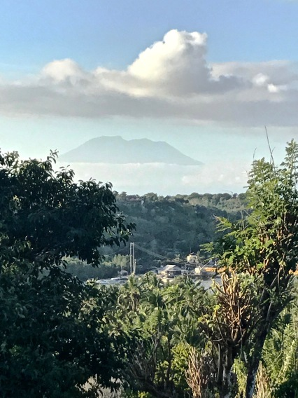 View of Mount Agung from Nusa Ceningan
