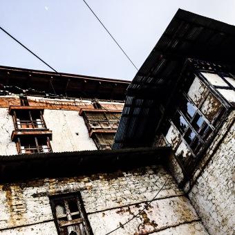 400-year old derelict Zurig Dzong