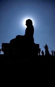 Haloed Buddha